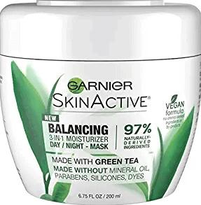 Garnier SkinActive 3-in-1 Balancing Face Moisturizer with Green Tea