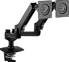 AmazonBasics Premium Dual Monitor Stand