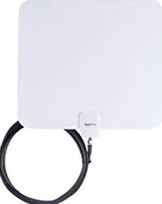 AmazonBasics Indoor Flat TV Antenna