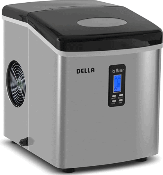 Della Premium Ice Maker Portable Counter-Top