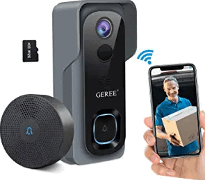 GEREE Video Doorbell Camera Wireless