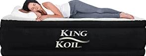 KingKoil Queen AirMattress with Built-in Pump