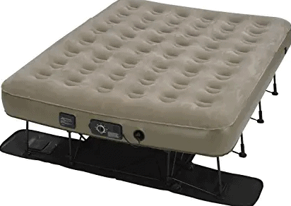 Insta-Bed EZ Air Mattress with NeverFlat Ac Pump