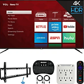 TCL 75S425 4K UHD 75″ Smart Roku TV
