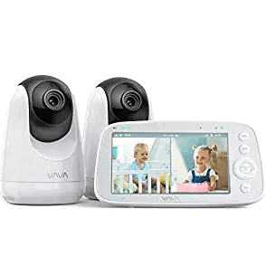 VAVA Baby Monitor Split View with 2 Cameras