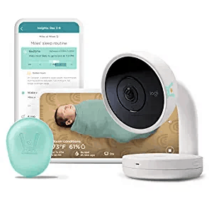 Lumi by Pampers Smart Baby Monitor And Sleep Kit Bundle