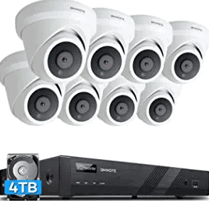 ONWOTE 4K PoE Outdoor Indoor IP Security Camera System