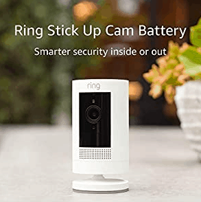 Ring Stick Up Cam Security Camera