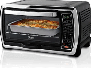 Oster TSSTTVMNDG Black/Polished Stainless Toaster Oven