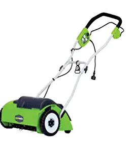 Greenworks 14″ 10 Amp Corded Lawn Dethatcher