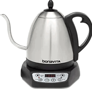 Bonavita Metallic Best Electric Kettle for Coffee