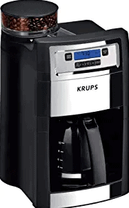 KRUPS Grind and Brew Auto-Start Maker with Builtin Burr Coffee Grinder