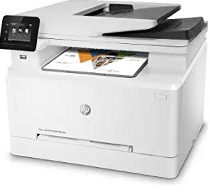 HP LaserJet Pro M281fdw All-in-One Wireless Color Laser Printer,