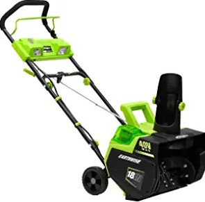 Earthwise SN74018 Cordless Electric Electric Snow Blower