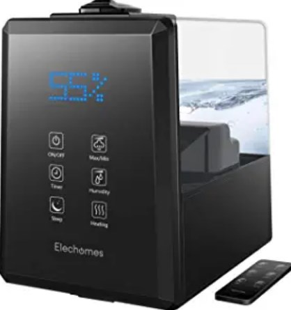 Elechomes UC5501 Humidifier, 6L Warm and Cool Mist Humidifiers