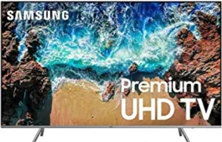 "Samsung UN82NU8000FXZA Flat 82"" 4K UHD 8 Series Smart LED TV"