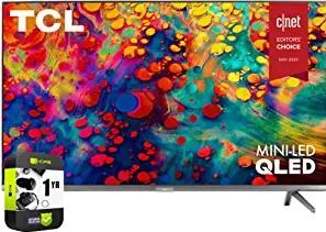 TCL 65R635 65 inch 6-Series 4K QLED Dolby Vision HDR Roku Smart LED TV