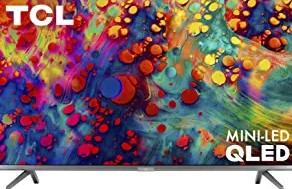 TCL 55 inch LED TV 4K UHD Dolby Vision HDR QLED Roku Smart TV