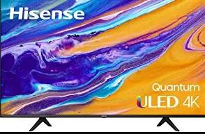 Hisense ULED 4K Premium 55U6G Quantum smart tv