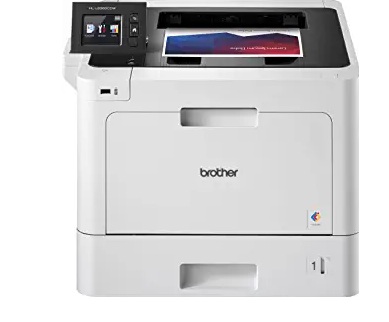 Brother Business Color Laser Printer, HL-L8360CDW, Wireless Networking, Automatic Duplex Printing,