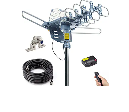 PBD Outdoor Digital Amplified HDTV Antenna,