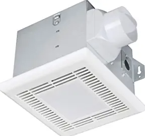Tech Drive Very-Quiet 70 CFM, 2.0 Sone Bathroom Ventilation and Exhaust Fan With LED light