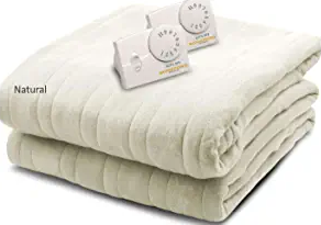 Biddeford Blankets Comfort Knit Electric Heated Blanket
