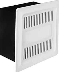 Living ILG8FV111 Bathroom Ventilation Exhaust DC Fan with 10W LED Light
