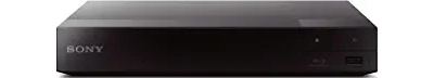Sony BDP-BX370 Blu-ray Disc Player with built-in Wi-Fi and HDMI cable