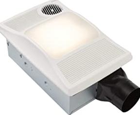Broan-Nutone 100HL Directionally-Adjustable Bathroom Heater, Fan, and Light Combo