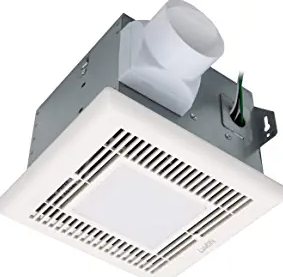 Luvoni 80 CFM Bathroom Exhaust and Ventilation Fan with Light