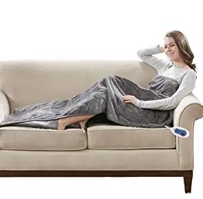 Beautyrest Foot Pocket Soft Microlight Plush Electric Blanket
