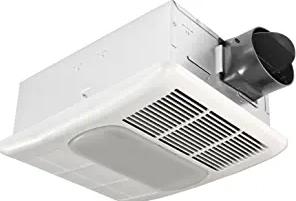 Delta Electronics (Americas) Ltd. RAD80L Radiance 80 CFM Exhaust Light and Heater Ventilation Bath Fan