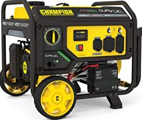 Champion Power Equipment 201052 4750/3800-Watt Dual Fuel Portable Generator