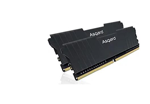 Asgard Gun Metal DDR4 RAM 16GB (2X8GB Kit) 3200 Mhz DRAM C16 Computer Memory for Your Gaming RAM