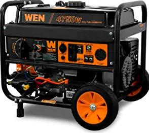 WEN DF475T Dual Fuel 120V/240V Portable Generator