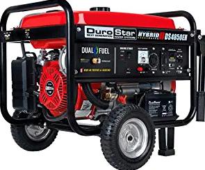 Durostar DS4850EH Dual Fuel Portable Generator