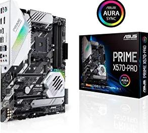 ASUS Prime X570-Pro AM4 Zen 3 Ryzen 5000 & 3rd Gen Ryzen ATX Motherboard