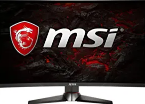 """MSI Full HD Gaming Red LED Non-Glare Super Narrow Bezel 1ms 2560 x 1440 144Hz Refresh Rate 2K Resolution Free Sync 27"""" Curved Gaming Monitor"""