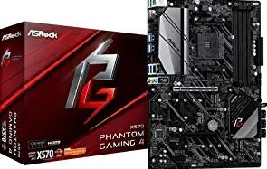 ASRock X570 Phant Gaming4AM4/USB3.2/HDMI/RJ45 Motherboard