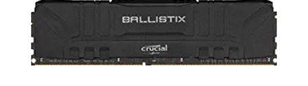 Crucial Ballistix 3200 MHz DDR4 DRAM Desktop Gaming Memory Kit 16GB (8GBx2) CL16 BL2K8G32C16U4B