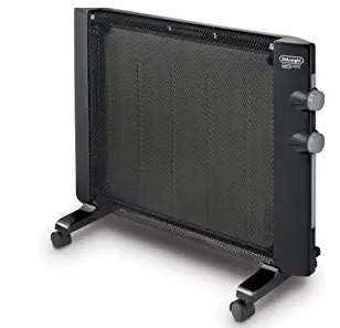 A practical and stylish way to stay warm during cold nights. This thermic panel heater is designed with a slim profile that packs 1500 watts of heating power into a compact design that looks great on the wall or floor.