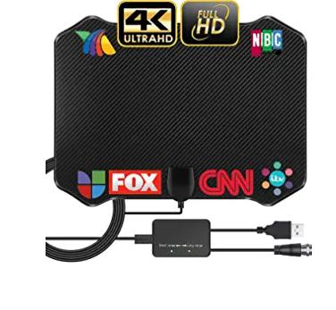 2021 Newest Antenna TV Digital HD Indoor, TAOPE HD Antenna for TV Indoor,