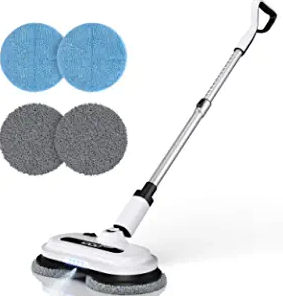 Cordless Electric Spin Mop, Floor Cleaner