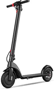 BEEYEO Electric Scooter, X7 Updated Scooters for Adults with Three Speeds Up to 15.5 Miles
