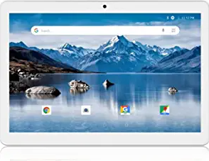 Android Tablet 10 Inch, 3G Phone Tablets with 16GB Storage, Dual SIM Card Slots, Quad-Core Processor, HD Touchscreen,