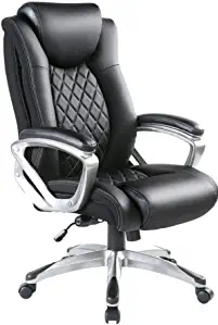 Bowthy Big and Tall Office Chair 300lbs Computer Ergonomic Desk Chair
