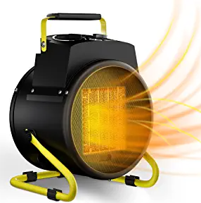 Portable Patio Outdoor Heater - Electric Garage Space Heaters