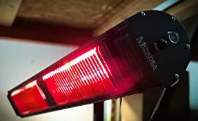 Commercial SunWave Ultra Quartz Infrared heat 3000W 220-240V