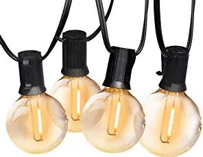 Upgraded-SUNTHIN Globe Outdoor String Lights, 48FT Patio String LightUpgraded-SUNTHIN Globe Outdoor String Lights, 48FT Patio String Light